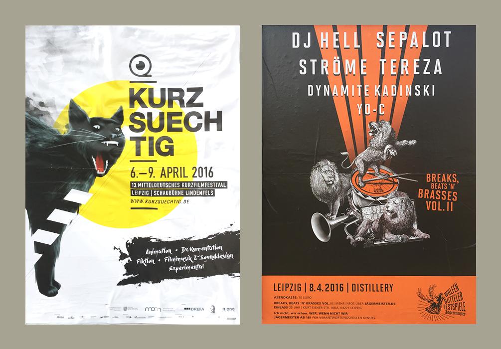 02 Kreative Plakate in Leipzig Teil 1