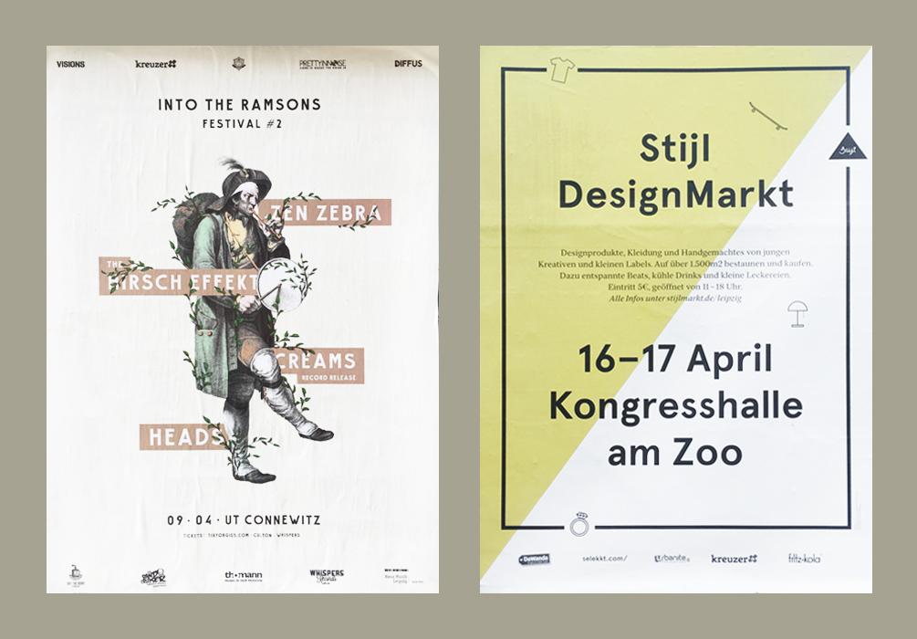 04 Kreative Plakate in Leipzig Teil 1