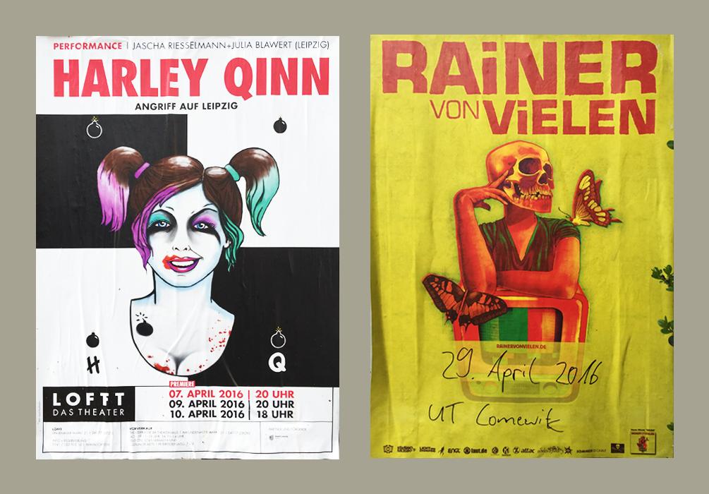 05 Kreative Plakate in Leipzig Teil 1